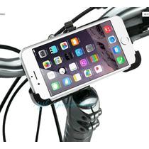 Suporte De Moto Bike Iphone 6s 6 Aberto No Encaixe E Pressão