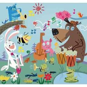 vinilos pared decoracion infantil animales divertidos