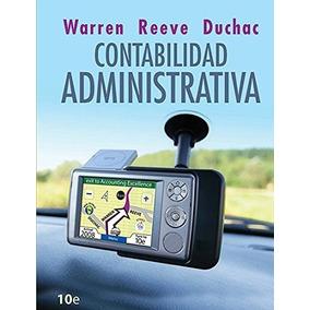 Libro Contabilidad Administrativa - Warren - 10 Edicion