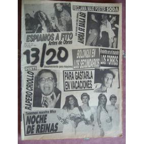 Maradona Fito Paez Stones Twist / Revista 13/20