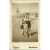 Foto Postal Antigua Mar Del Plata 1940 Casul Sepia