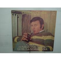 Luis Landriscina Concierto En Solo De Mate Vinilo Argentino