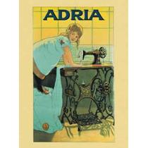 Poster De Una Propaganda Antigua - Maquina De Coser