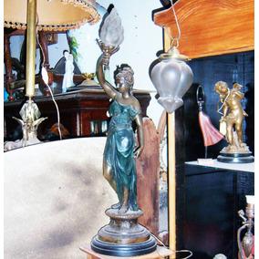 Historical*- Luminaria La Republica Petitbronce Impec.-envio