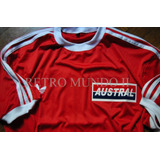 Camiseta Argentinos Diego Maradona Austral Retro Homenaje