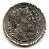Argentina San Martin 50 Centavos Año 1953