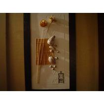 Cuadro Original S Cikurel Colage Marco Minimalista Oriental