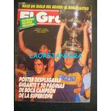 Boca Campeón De La Supercopa 1989 El Gráfico