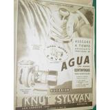 Publicidad Clipping Recorte Bombas Agua Ervo Knut Sylwan