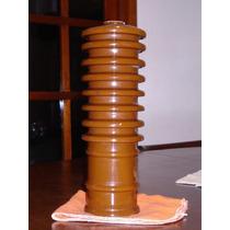 Gigante Y Antiguo Aislador De Corriente Electrica.-