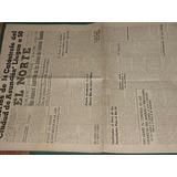 Diario El Norte San Nicolas 7/63 Catastrofe Vapor Asuncion