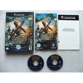Game Cube: Medal Of Honor Rising Sun Americano Completo!!