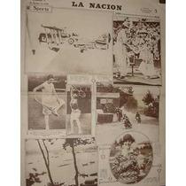 Diario Nacion 17/2/29 Verano Playa Miramar Carnaval Porteño
