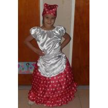 Disfraz De Negrita Mulata Paisana Dama Antigua