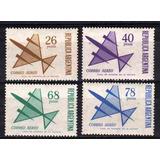 Serie Ordinaria Aerea Aviones 118 A 121 4 Dif. Año 1967