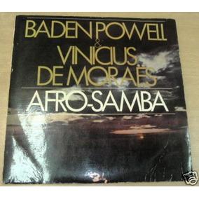 Baden Powell Vinicius De Moraes Afro Samba Vinilo Argentino