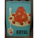 Postres De Gelatina Royal. Recetario Royal