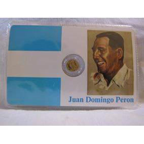Moneda Conmemorativa General Perón 1986