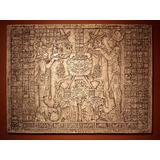 Tabla Maya Del Templo Del Sol En Relieve Precolombina