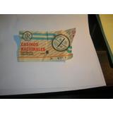 Entrada Loteria Nacional Casinos Republica Argentina Juego