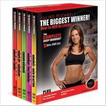 Jillian Michaels 5 Dvd´s The Biggest Winner, Boxset