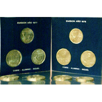 Monedas Conmemorativas Mundial 78 - 5 X 100$ 3 X 50$ 2 X 20$