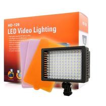Iluminador Profissional Led Video Lighting Hd-126