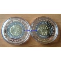 Medalla Trimetalica Centenario Revolucion Mexicana Nueva Cm