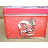355 B-lata De Cuadrada De Coca Cola Con Motivo De Navidad