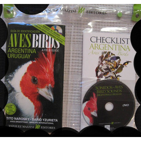 Guía Aves Argentinas Y Uruguay. Narosky +cd+bolso+chek List