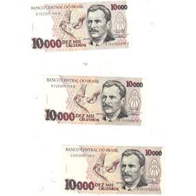 Cédula 10.000 Cruzeiros C-225, Vital Brasil, Dinheiro Antigo