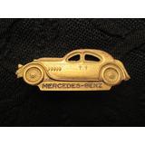 Broche Alfinete Da Mercedes Benz Em Latão Raro Antigo