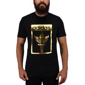 Camiseta adidas Originals Trefoil Fire Preto Az1031