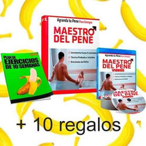 Maestro Del Pene Mas 10 Regalos,sin Contenido Paja ,agranda
