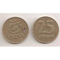 Ficha De 25 Centavos Cirsa