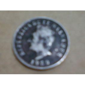 Moneda De 5 Centavos De Colon, El Salvador, Año 1959 !!!