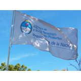Banderas Impresas Sublimadas Con Publicidad 150x90cm