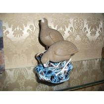 Perdices En Porcelana