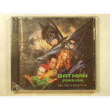 Cd Batman Forever Banda Sonora Soundtrack Pelicula Film 1995
