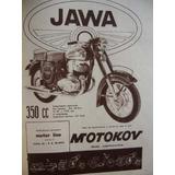 Moto Jawa Publicidad Grafica Año 1961