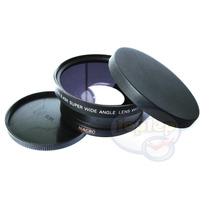 72mm Grande Angular Macro Canon 5d 7d 40d 60d 18-200 28-135