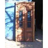 Puerta De Frente Antigua Restaurada