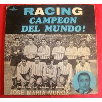 Racing Campeón 1967, Firmado Plantel, Entradas, Poster, Etc