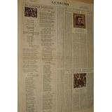 Diario La Nacion 21/6/53- Travesia Aerea Los Andes Lafinur