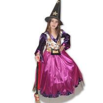 Disfraz De Bruja Halloween Varios Modelos