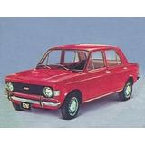 Burlete Luneta Fiat 128 71 / 77 Original Para Usar C/ Moldur