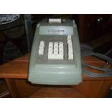 Antigua Calculadora Burroughs Eléctrica A Revisar