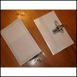 Portacredenciales-identificador-c/broche Y Alf (caja X 50)