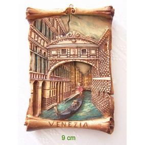 Cuadro Miniatura De Resina. Venecia