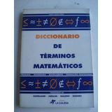 Diccionario De Terminos Matematicos